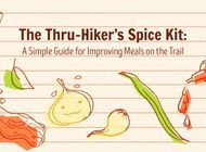 The Thru-Hiker's Spice Kit: A Simple Guide for Improving Meals on the Trail