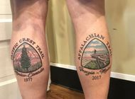 Thru-Hiking Inspired Tattoos: Pacific Crest Trail and Beyond (Part III)