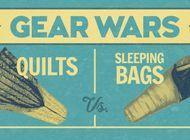 Gear Wars: Quilts Vs. Sleeping Bag