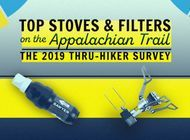 Top Stoves and Filters: The 2019 Appalachian Trail Thru-Hiker Survey