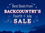 The Best Deals for Backpackers at Backcountry's Fourth of July Sale