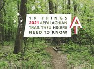 19 Things 2021 Appalachian Trail Hikers Need to Know