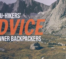 Thru-Hikers' Advice for Beginner Backpackers