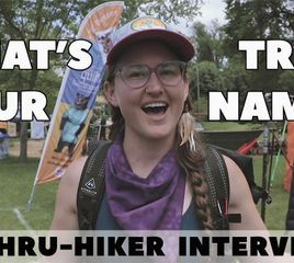 What's Your Trail Name?   Thru-Hiker Interviews at Trail Days 2019