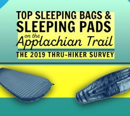 Top Sleeping Bags and Pads: The 2019 Appalachian Trail Thru-Hiker Survey