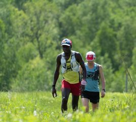 Coree Woltering Sets FKT for Ice Age Trail