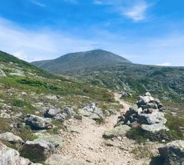 A New Challenge: The White Mountains Direttissima Record
