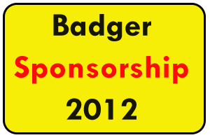 Badger Sponsorship 2012