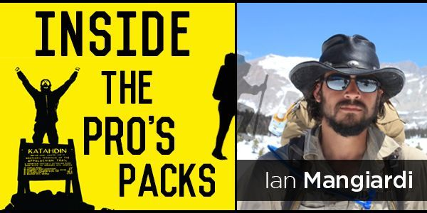Inside the Pro's Packs: Ian Mangiardi of Modern Explorer Inc.