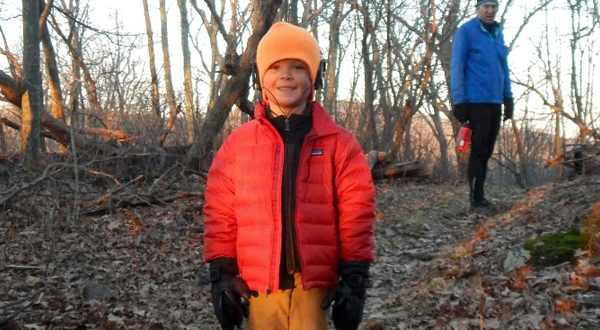 Meet Buddy Backpacker, The 5 Year Old Thru-Hiker