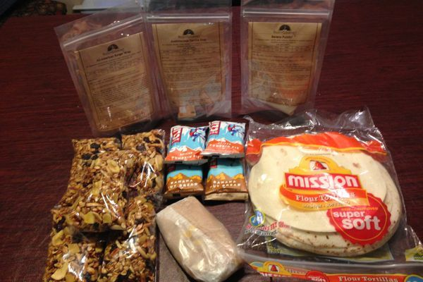 Planning Your Meals for a Section Hike