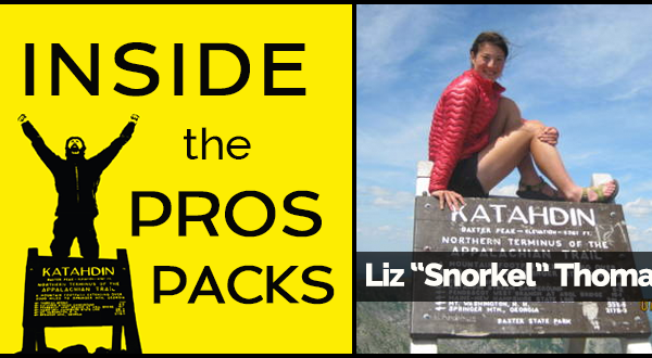 "Inside the Pro's Packs with Liz ""Snorkel"" Thomas"