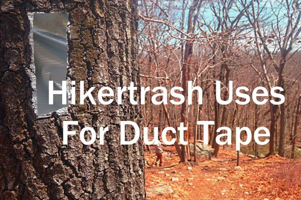 The 8 Best Uses for Duct Tape While Backpacking
