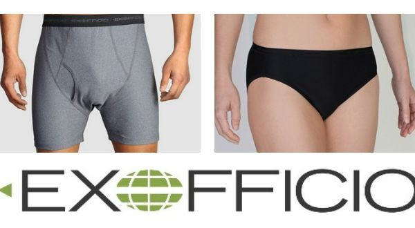 Gear Review: Men's & Women's ExOfficio Underwear