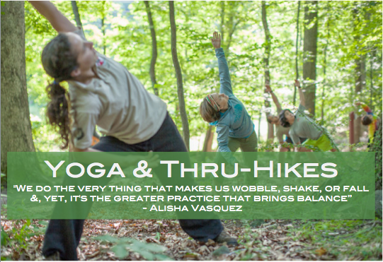 Using the Buddy System: Yoga & Thru-Hiking