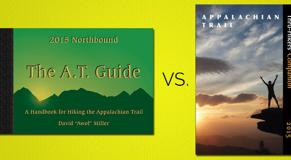 The AT Guide vs. The Thru-Hiker's Companion