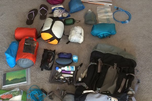 Katniss Neverclean's Before and After Thru-Hike Gear List