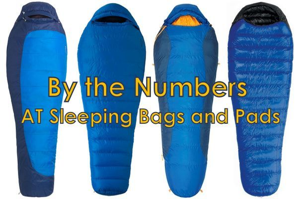 By the Numbers: Sleeping Bags and Pads on the Appalachian Trail