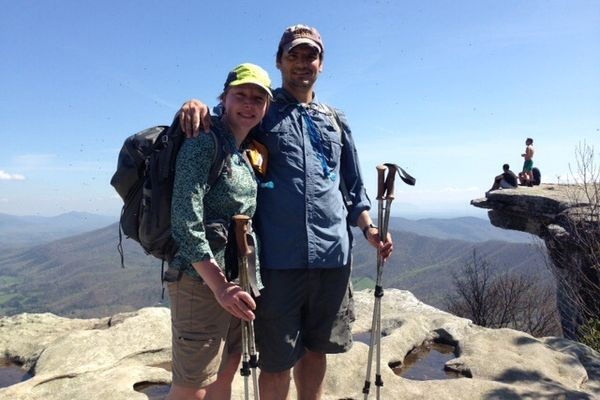 Yellow is Our New Color and We Have a Trail Name: Davenport Gap to McAfee Knob