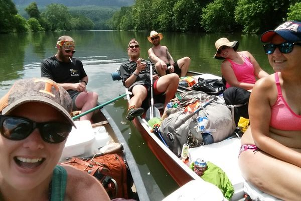 Hiker Trash Turned River Rats