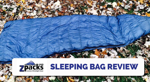 Gear Review: ZPacks 10F Sleeping Bag