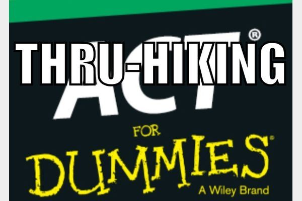There should be an AT thru-hiking for dummies.