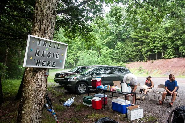 July Is Appalachian Trail Magic Month in NJ and NY