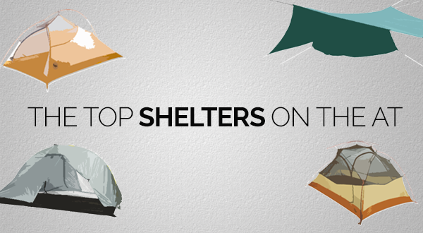By the Numbers: The Top Shelter Systems on the Appalachian Trail in 2015