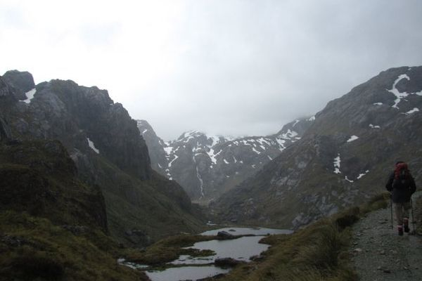 A Journey to the Fiordland: The Greenstone and Routeburn Tracks of New Zealand