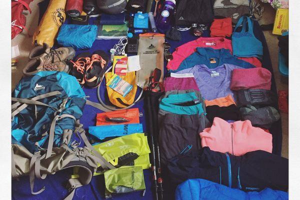 Pre-Trail Gear List