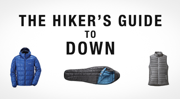 The Hiker's Guide to Down