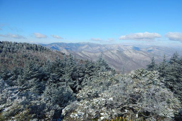 Day Thru-Hiking the Art Loeb Trail