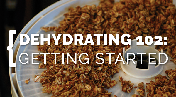 Dehydrating 102: Getting Started