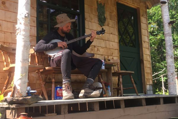 Monson To Gorham: Banjo Tunes, Rock Scrambling and Lean-To Liquor Parties