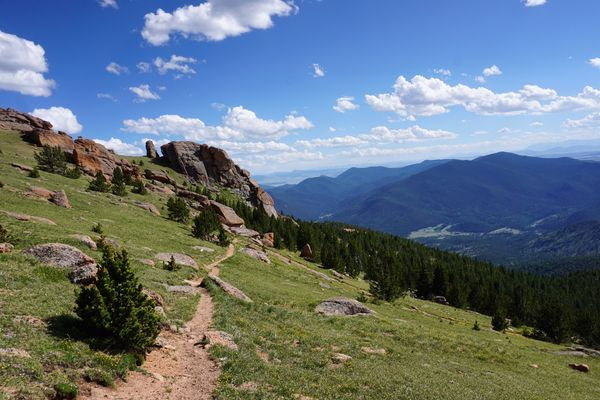 Lost Creek Wilderness Loop Trail: 37-Miles of Secluded Colorado Backpacking
