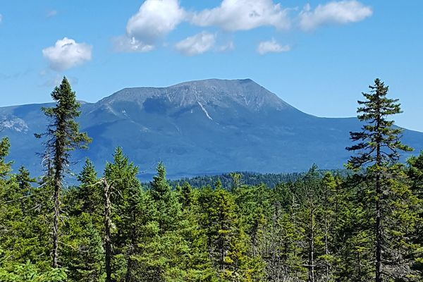 Hiking in Baxter State Park