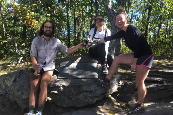 Congratulations to This Week's Appalachian Trail Thru-Hikers! (Week of 10.16.2016)