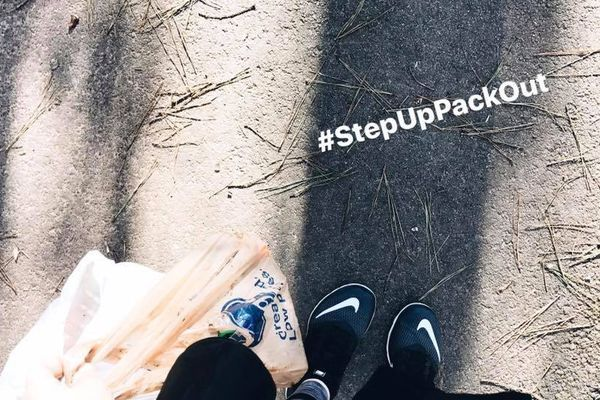 Leave the Trail Cleaner Than You Found It: #StepUpPackOut