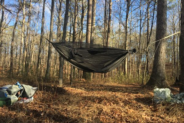 Quest for a Lighter Hammock System