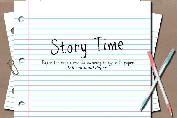 Story Time: Out of Paper