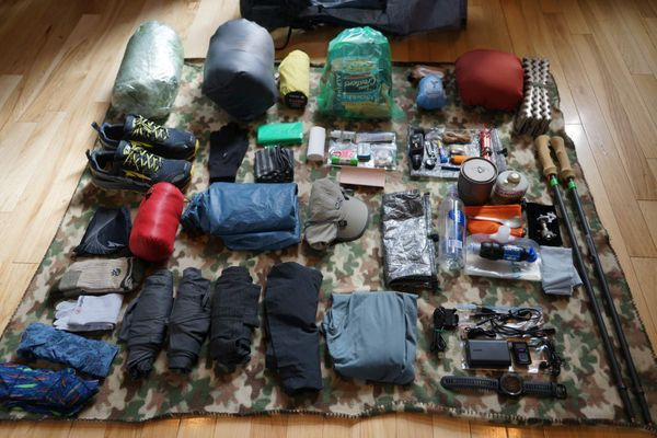 Evolution of My Gear – Aiming for Ultralight