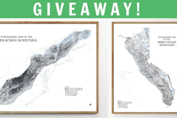 Meet Muir Way Maps [And an Exclusive GIVEAWAY!]