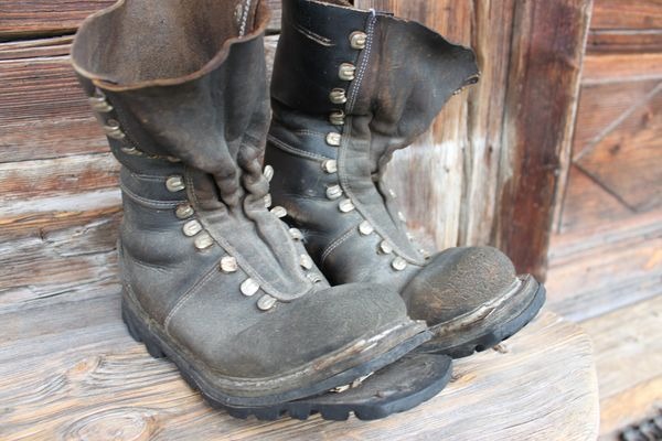 Just like an Old Pair of Boots – Worn Out