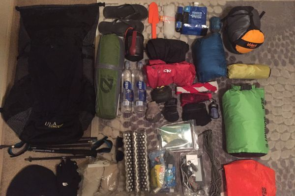 Carrying only what you need: My AT 2017 gear list