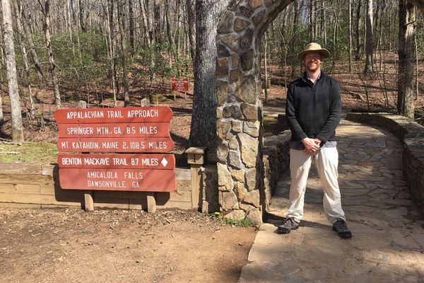 The Barefoot Hiker Begins His AT Thru-Hike