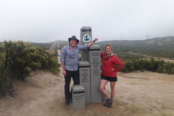 Jon's Perspective: Day One of the PCT
