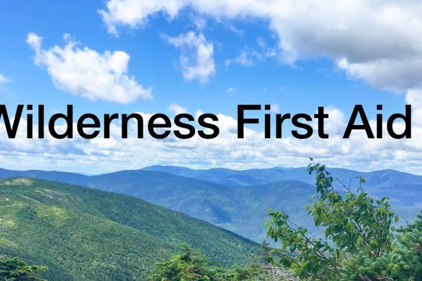 3 Reasons To Take Wilderness First Aid (WFA)