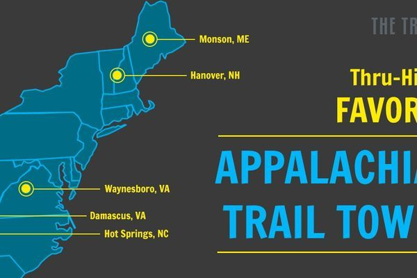 Thru-Hiker's Favorite Appalachian Trail Towns