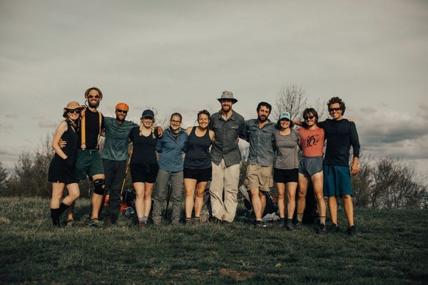 From Tides to Trail : Finding A New Community After Leaving the Military
