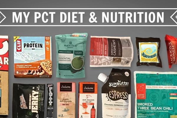 My PCT Thru-Hike Diet and Nutrition Plan